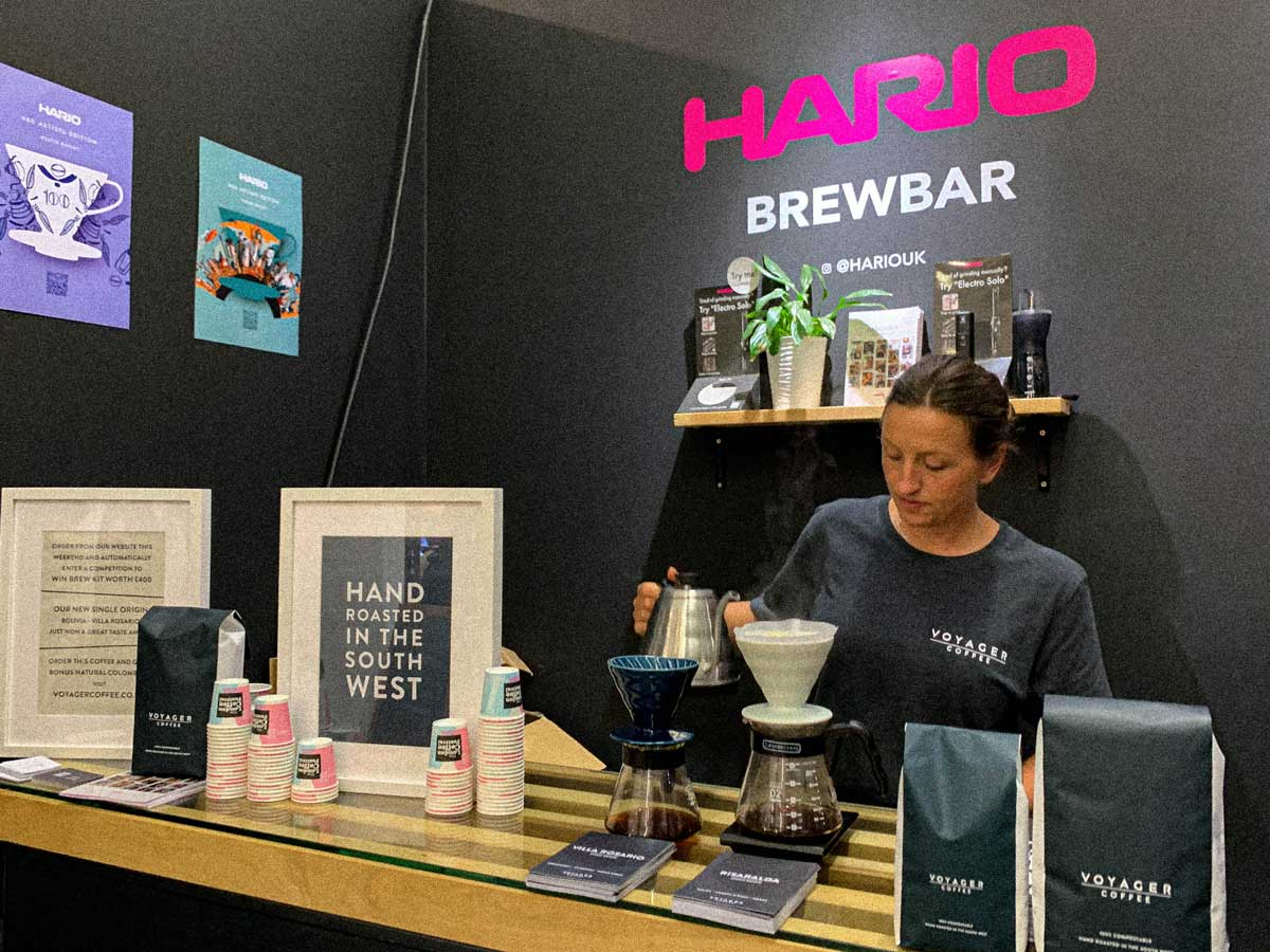 London Coffee Festival Hario Bar